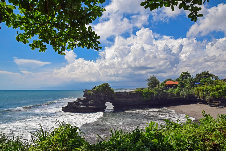 Bali Travel Temple Tanah Lot Indonesia View